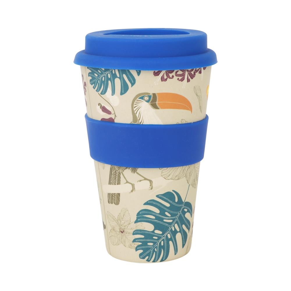 400ml Reusable Bamboo Travel Coffee Cup