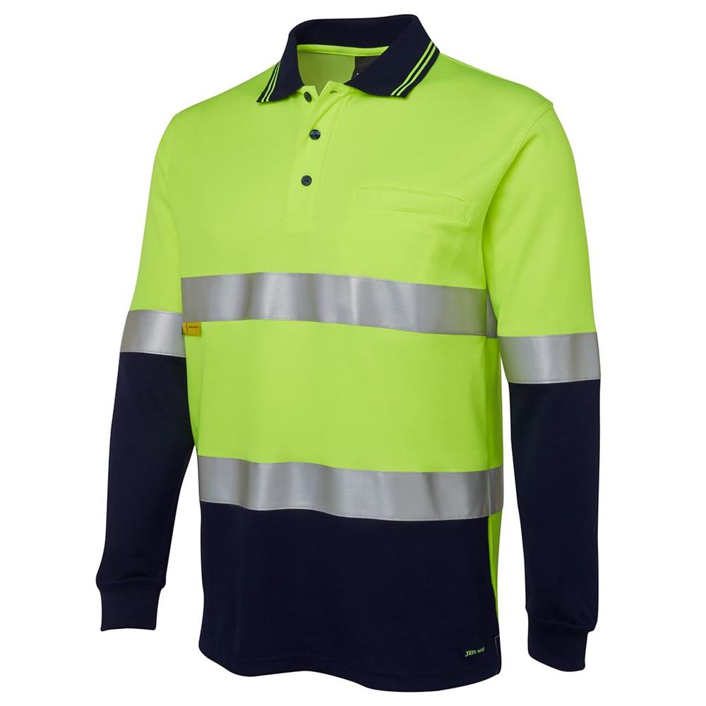 Hi Vis Day and Night Long Sleeve Polo